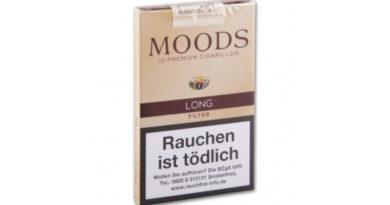 """Die neue Moods: """"Moods Long Filter"""" – so viel schlanker Genuss darf sein"""