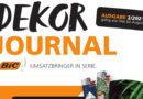 Das aktuelle digitale BIC Dekor-Journal zum Blättern…