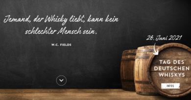 Tag des deutschen Whiskys: Am 27. Juni 2021 feiern Hersteller und Whiskyfreunde