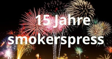 Das Dankeschön-Gewinnspiel zum smokerspress-Jubiläum