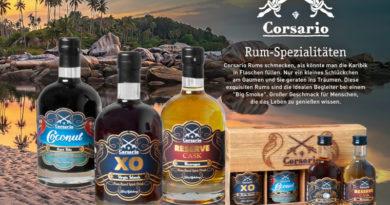 Corsario-Rum: Karibik pur bei John Aylesbury